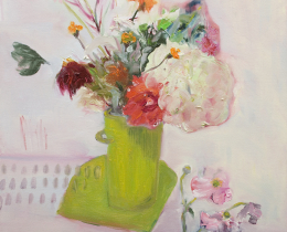 A Bucketful of Summer I 61 x 61 cm oil on canvas SOLD