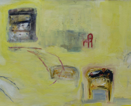 What Shall I Wear Today? 59 x 84 cm oil on canvas