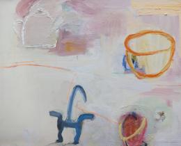 Kitchen Cabinet II 75 x 100 cm oil on canvas