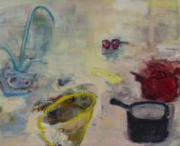 Your Turn to Wash Up 75 x 100 cm oil on canvas