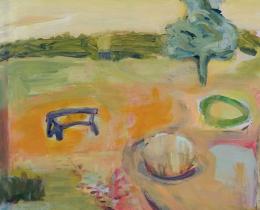 From my Window 1, 80 x 60cm, acrylic on canvas