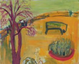 From My Window 2, 100 x 100cm, acrylic on canvas